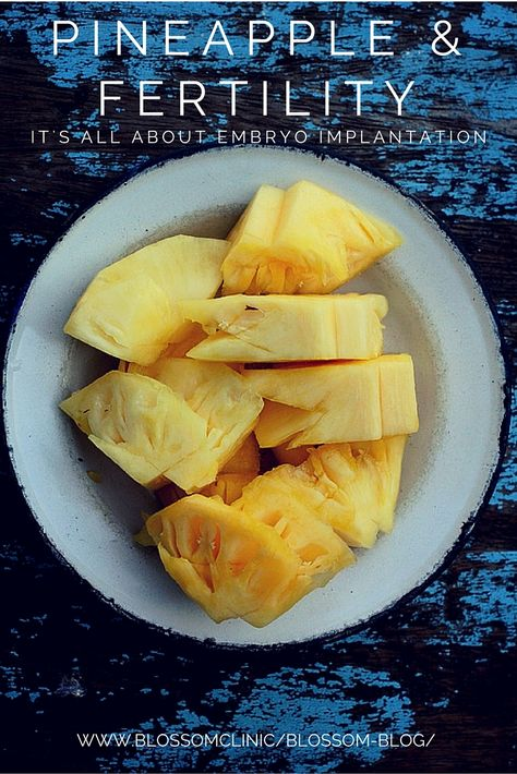 Easiest thing during 2WW: slice evenly pineapple into 5 slices, eat 1 slice per day from 1dpo-5dpo.
