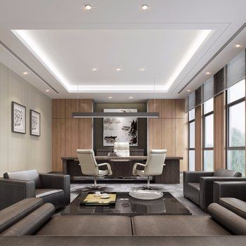 Office Interior Click To Get The Complete Design Ideas 3ds Max