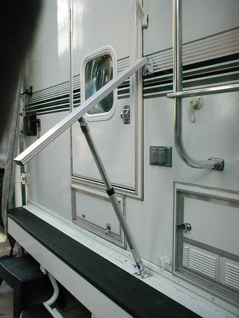 RV.Net Open Roads Forum: Truck Campers: Folding grab handle options??