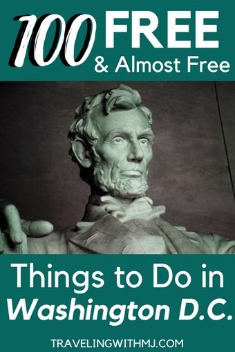 100 free and almost free things to do in dc