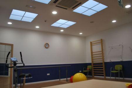 Gimnasio para actividades físicas para los mayores del Centro