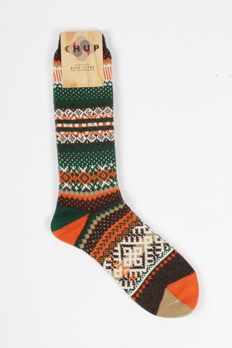 GOOD AS GOLD — CHUP Cirkor Socks, brown    http://www.goodasgold.co.nz/collections/mens-undies-socks