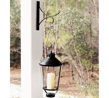 Wall Mounted Lantern Hook #potterybarn Order 2 One For Porch W/lantern