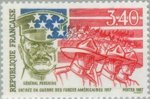 General Pershing: Enters the War of American forces