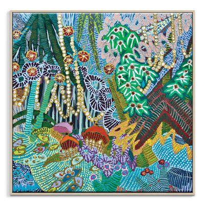 In A Garden Printed Wall Art Artist Lane Canvas Art Prints Art