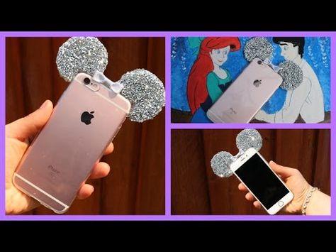 Diy Como Fazer Capa Do Mickey Com Glitter Para Celular