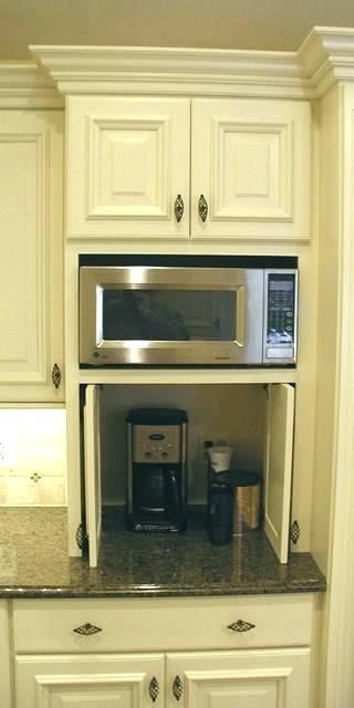 Pictures Of Microwaves In Kitchen Cabinets Kitchen Cabinets