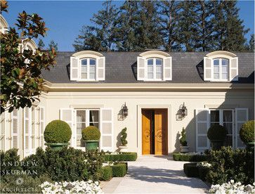 Mansard Roof Design Ideas, Pictures, Remodel, And Decor   Page 4 |  Beautiful Homes Exterior | Pinterest | Mansard Roof, Roof Design And  Traditional Exterior