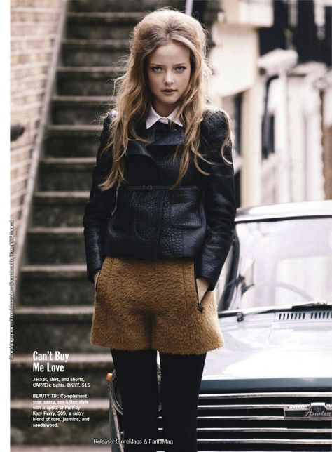 visual optimism; daily fashion fix.: british invasion: photographed by dean isidro for cosmopolitan us october 2011