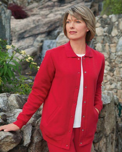 BESTSELLER! National Fleece Snap Front Jacket $29.95  http://www.anorakoutlet.com