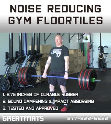 How To Eliminate Noise Complaints From Cross Fitness Gyms Gym Flooring Rubber Gym Flooring Gym Flooring Tiles