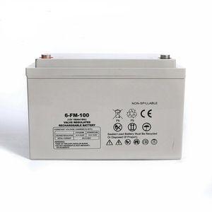 Normal Specification Agm Gel 12v 100ah 150ah 200ah 250ah Solar Battery Solar Battery Electrical Equipment Solar
