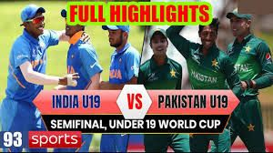 Ind Vs Pak Highlights U19 World Cup Semi Final 2020 Yashaswi Jaiswal Show In 2020 World Cup Semi Final World Cup Semi Final