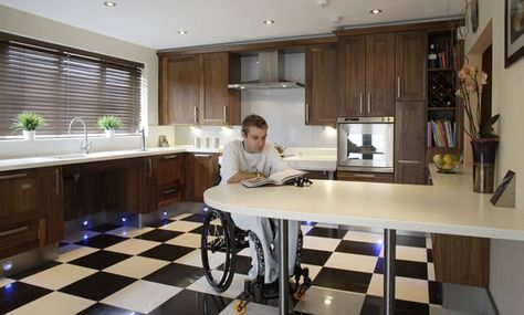Design Matters, Adam Thomas works in the field of accessible kitchen design.