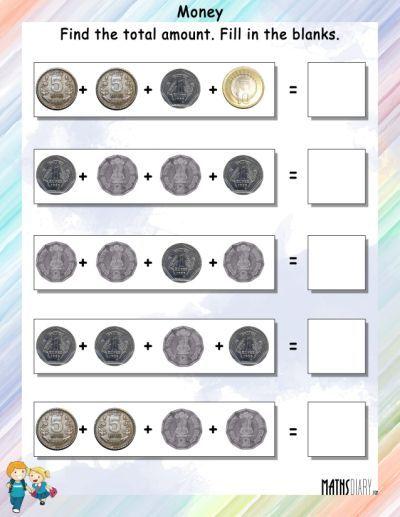Money 15 Math Worksheets Kindergarten Worksheets Money Worksheets Money Math Worksheets Money Math