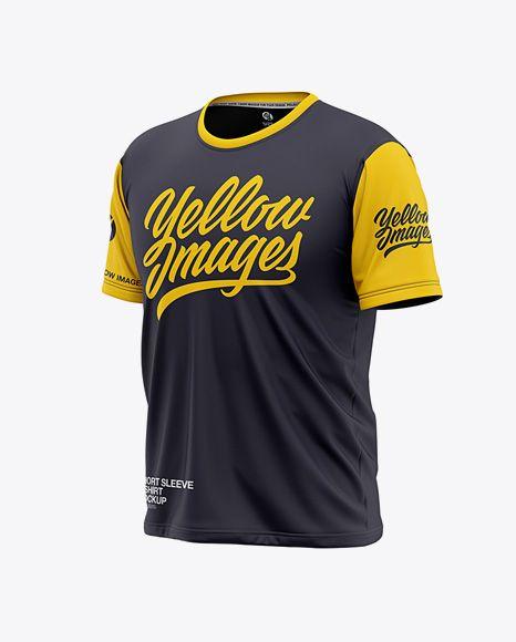 Download Men S Short Sleeve T Shirt Mockup Front Half Side View In Apparel Mockups On Yellow Images Object Mockups Shirt Mockup Clothing Mockup Tshirt Mockup