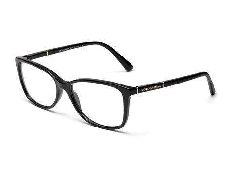 46c6e486d82 Women s black   gold eyeglasses with square frame Dolce   Gabbana dg3219