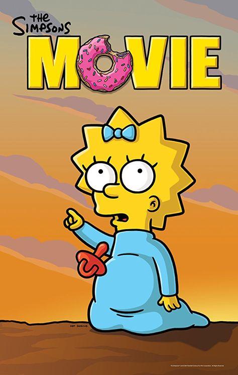 The Simpsons Movie 2007 Photo Gallery Imdb The Simpsons Movie The Simpsons Simpson