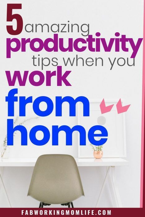 How To Stay Productive When Working From Home Fab Working Mom Life Working Mom Life Work From Home Tips Working From Home