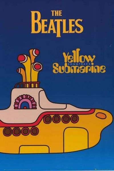 The Beatles Yellow Submarine Poster 24x36 Yellow Submarine Album
