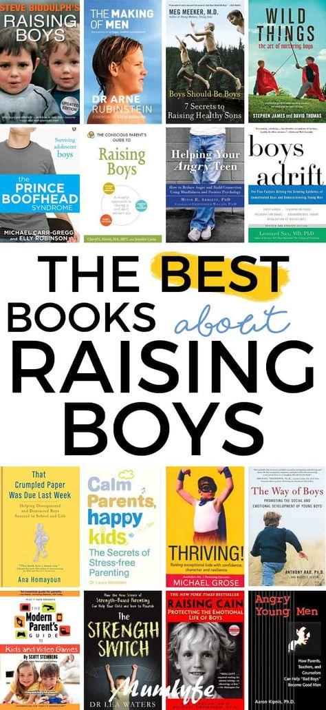 16 very helpful books about raising boys | Mumlyfe