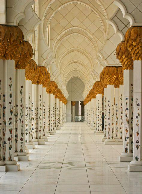 Sheikh Zayed Grand Mosque, Abu Dhabi.