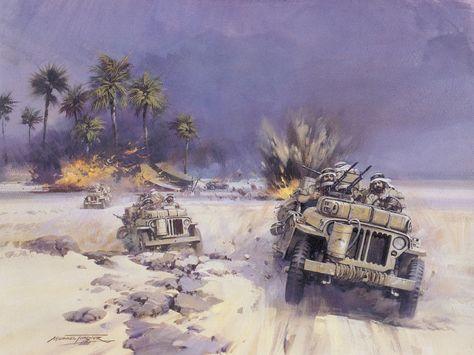 Desert Raiders - Michael Turner.