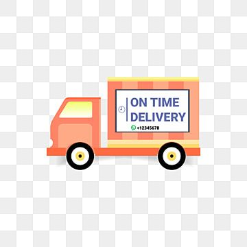 Truck Delivery Order Box Truck Delivery Car Png And Vector With Transparent Background For Free Download Order Boxes Cartoon Gift Happy Birthday Ballons
