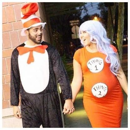 Prego Halloween Party 2020 Easy And Hilariously Funny Pregnant Halloween Costumes 24+