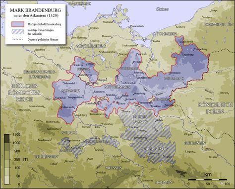 Pin Von Paxi Auf Maps In 2020 Brandenburg Deutsche Geschichte