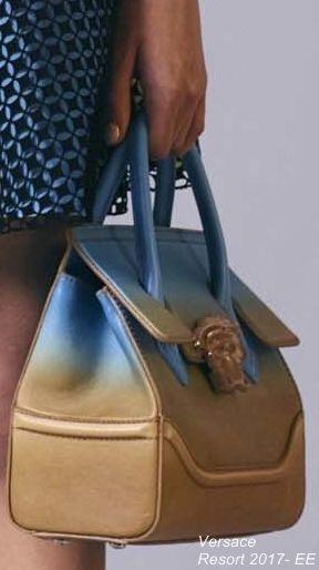 Versace Resort 2017- EE Sunrise ore sunset ombre purse