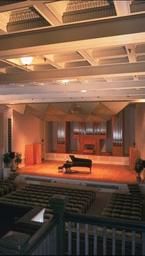 Sung On Stage In Beall Concert Hall University Of Oregon