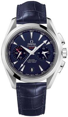 Omega Aqua Terra 150m Co-Axial GMT Chronograph 43mm 231.13.43.52.03.001