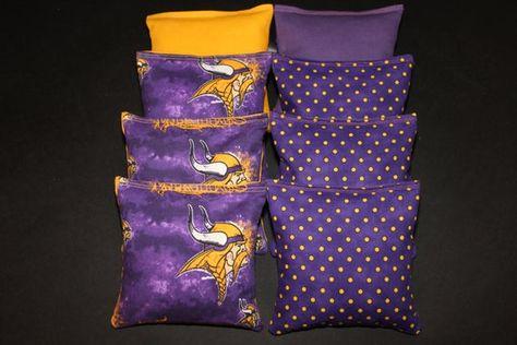 Cornhole Bean Bags Set of 8 ACA Regulation Bags OREGON DUCKS