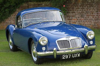 Ebay Mga Coupe 1500 1958 Uk Rhd Classicmg Mg Mgoc British Sports Cars British Cars British Sports