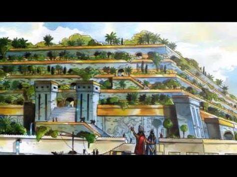 Siete Maravillas Del Mundo Antiguo Jardines Colgantes De