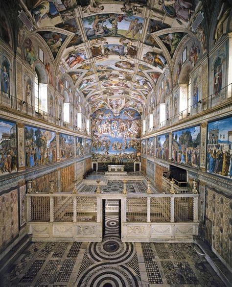Sistine Chapel. Michelangelo. 1508-1512. Fresco. Sistine Chapel. Vatican.