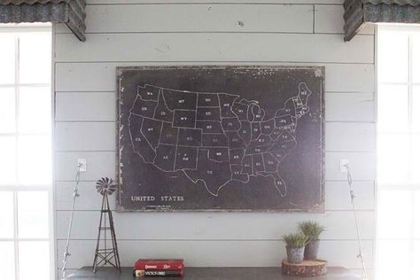 Canvas Map | The Magnolia Market