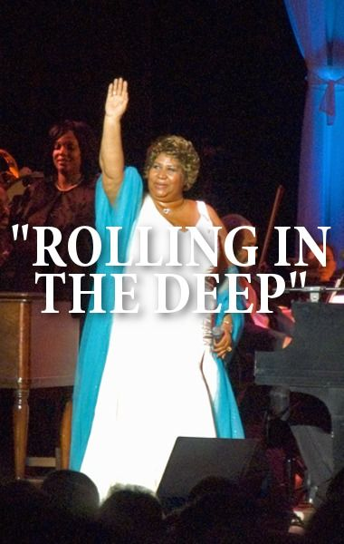 Aretha Franklin Performed Rolling In The Deep For Kelly