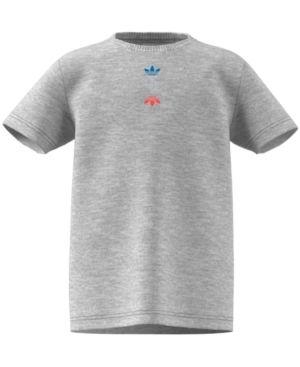 Boys Adidas Logo Cotton Logo Tshirt