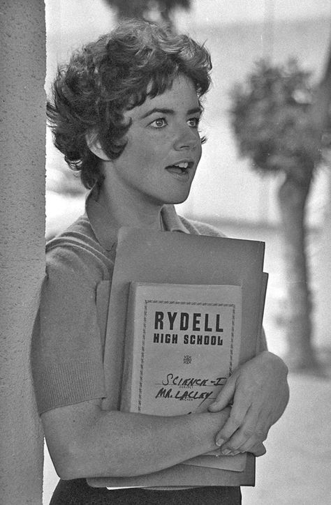 There are worse things I could do: Stockard Channing as Rizzo in Grease, 1977.