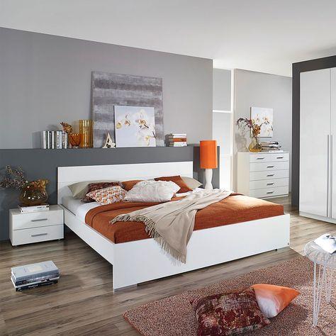 Bettanlage Lorca 3 Teilig Komplettes Schlafzimmer Woody Mobel Haus