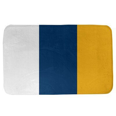 East Urban Home Convert Your Bathroom From Top To Bottom By Using This Microfiber Foam Bath Rug With In 2020 Blue Color Pallet Beige Color Palette Color Palette Yellow