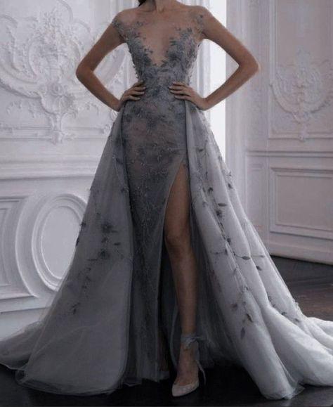 Cute Prom Dresses, Elegant Dresses, Pretty Dresses, Beautiful Dresses, Crazy Dresses, Green Wedding Dresses, Elegant Ball Gowns, Tulle Prom Dress, Ball Gown Dresses