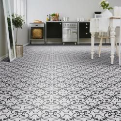 Beauflor Majestic Victorian Tile Vinyl Flooring Kitchen Vinyl Sheet Flooring Vinyl Flooring