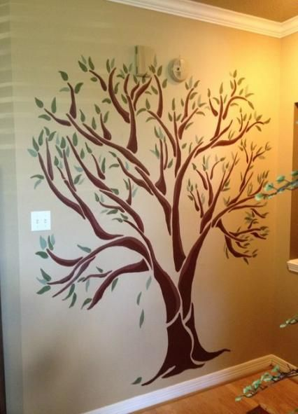 New Painting Tree On The Wall Ideas Family Tree Wall Painting Tree Wall Painting Family Tree Painting