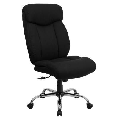 Black Fabric Office Desk Chair Black Office Chair Furniture