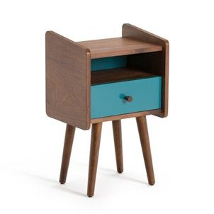 Ronda Vintage Bedside Table La Redoute Interieurs Bedside Tables