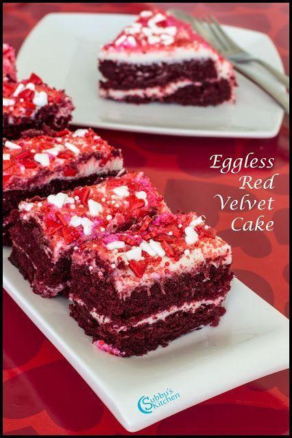 Eggless Red Velvet Cake Recipe Red Velvet Cake With Beetroot Recipe In 2020 Red Velvet Cake Eggless Red Velvet Cake Velvet Cake Recipes