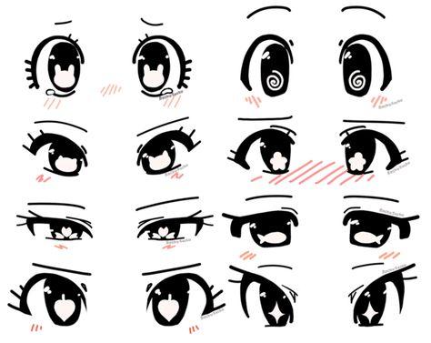 eye shapes drawing 208573026473346627 - Anime eye shape ideas by RockuSocku on DeviantArt Source by lalacassiano Art Drawings Sketches Simple, Cute Drawings, Pencil Drawings, Hipster Drawings, Pencil Sketching, Realistic Drawings, Cartoon Eyes Drawing, Cute Cartoon Eyes, Manga Drawing